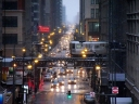 Chicago on Rainy Afternoon