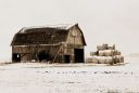 The Winter Hay Barn Artistic