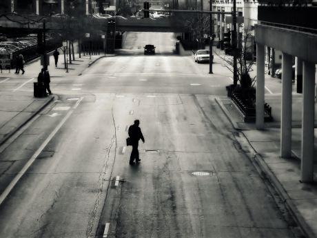 Urban Loneliness Art