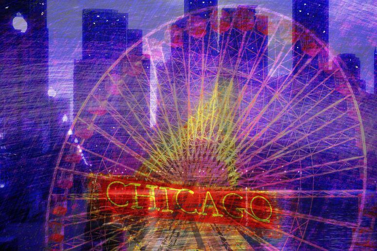 Chicago Art Collage