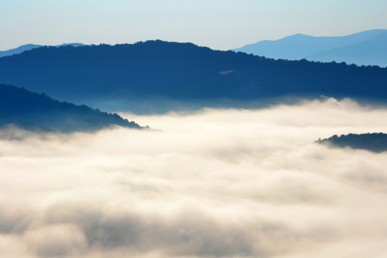 Morning Fog on the Blue Ridge Parkway