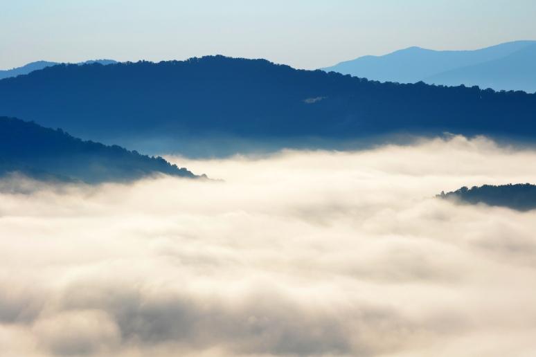 Morning Fog on the Blue Ridge Parkway