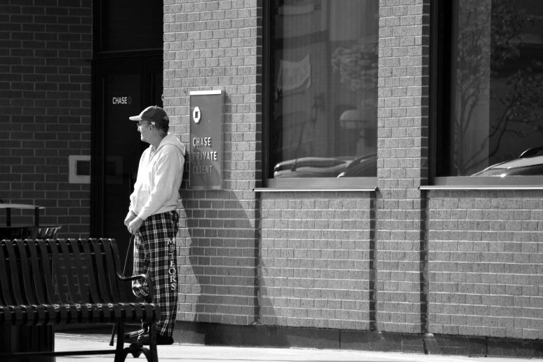 Waiting at the Bank