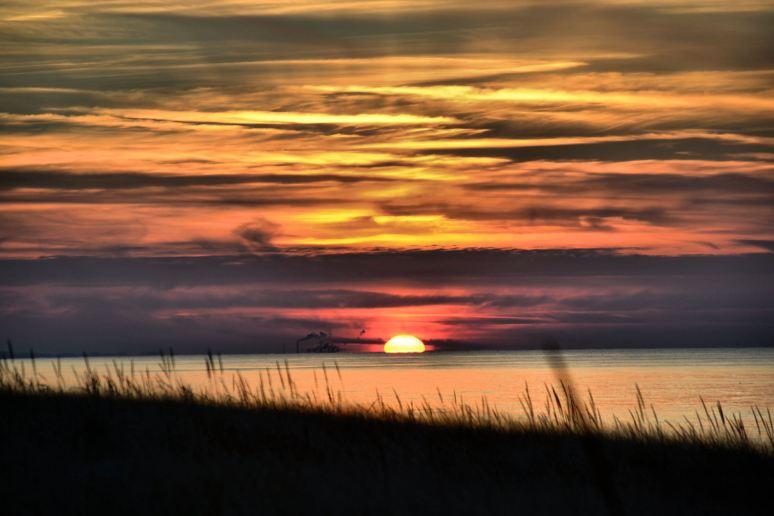 Land Water Sky Sun