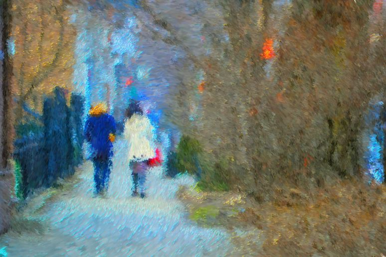 On the Town Impressionistic