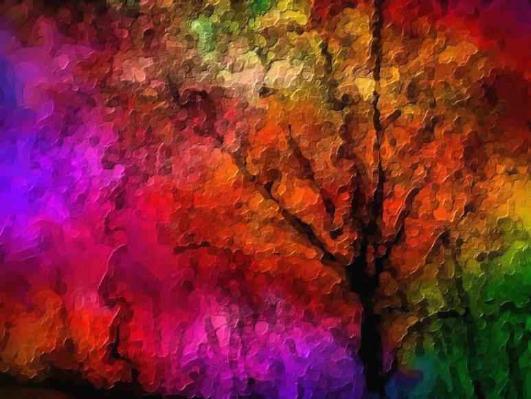 Trees - Modern Art