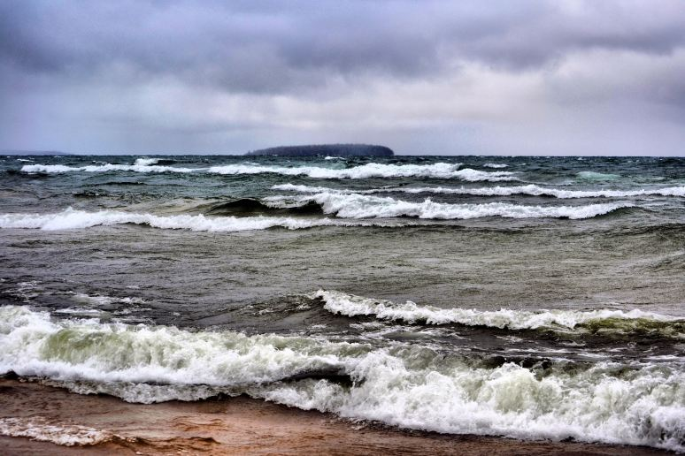 Lake Superior Angry