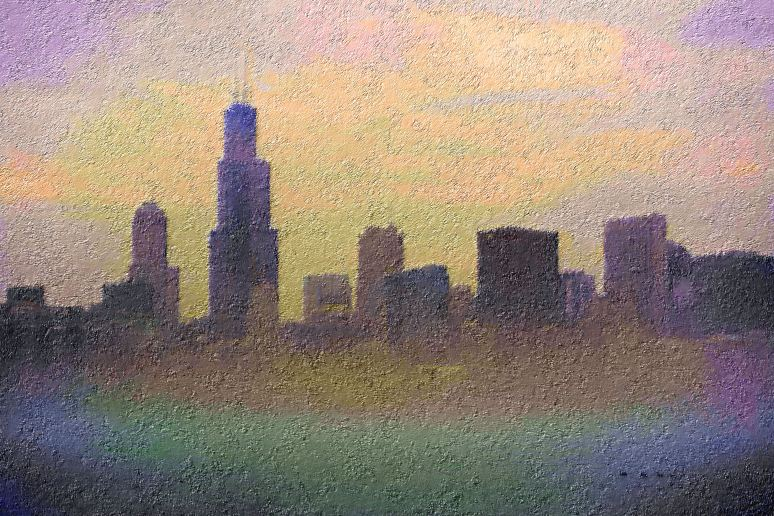 chicago-skyline-on-foggy-day