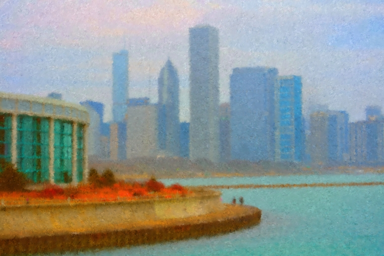 walk-on-the-lakefront-painting